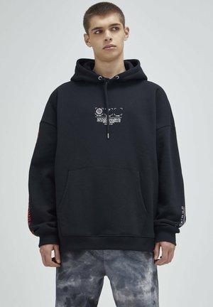 Bluza z kapturem - mottled black