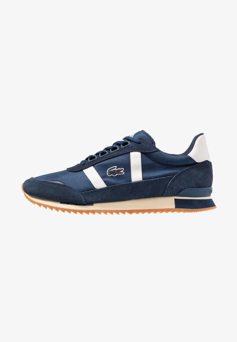 Lacoste - PARTNER RETRO - Sneaker low - navy/offwhite