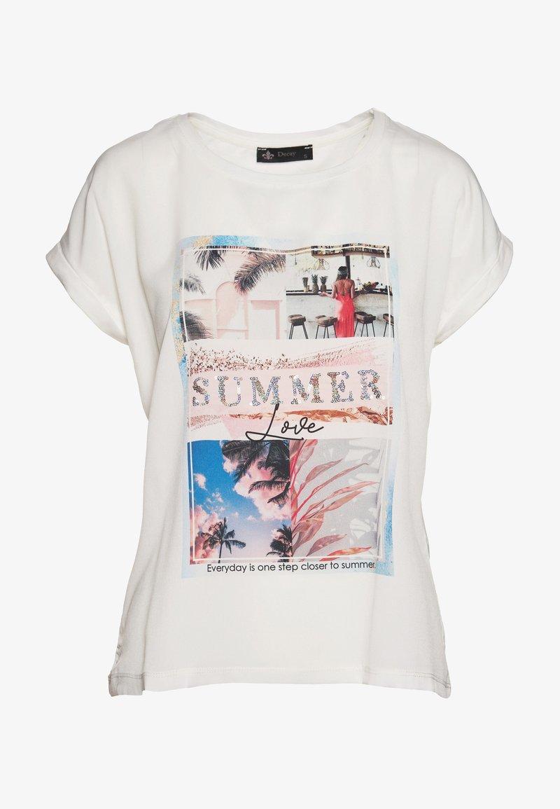 Decay - Print T-shirt - weiß