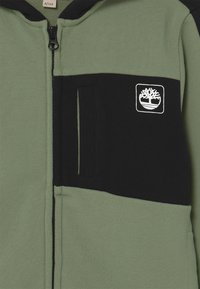 Timberland - Mikina na zip - green - 2