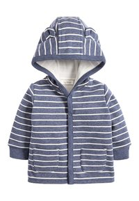Next - BLUE COSY POPPER LIGHTWEIGHT JACKET (0MTHS-3YRS) - Zip-up hoodie - blue - 0