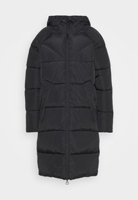 ONLY - ONLMONICA PLAIN LONG PUFFER COAT - Vinterkåpe / -frakk - black - 4