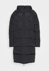 ONLMONICA PLAIN LONG PUFFER COAT - Cappotto invernale - black