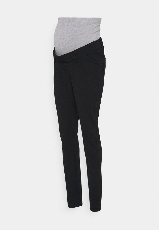 MLALBA PANTS - Jeans Tapered Fit - black