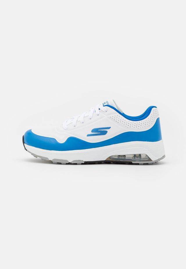 GO GOLF SKECH-AIR - Obuwie do golfa - white/blue