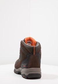 Hi-Tec - STORM WP - Chaussures de marche - dark chocolate/dark taupe/burnt orange - 3