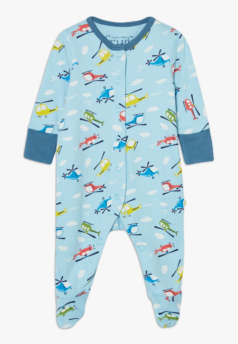 Frugi - LOVELY BABYGROW RAINBOW - Pyjama - bright sky