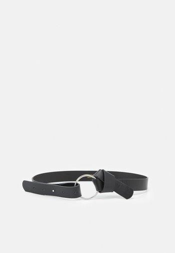 PCKAROLINE WAIST BELT - Waist belt - black/silver