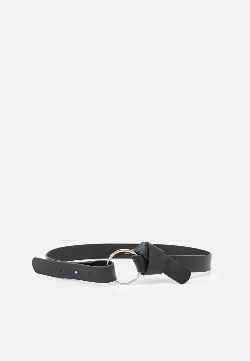 Pieces - PCKAROLINE WAIST BELT - Waist belt - black/silver