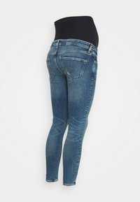 River Island Maternity - AMELIE RODNEY MID RIPS OVERBUMP - Jeans Skinny Fit - blue - 1