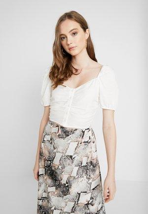 NIC BLOUSE - Blusa - white