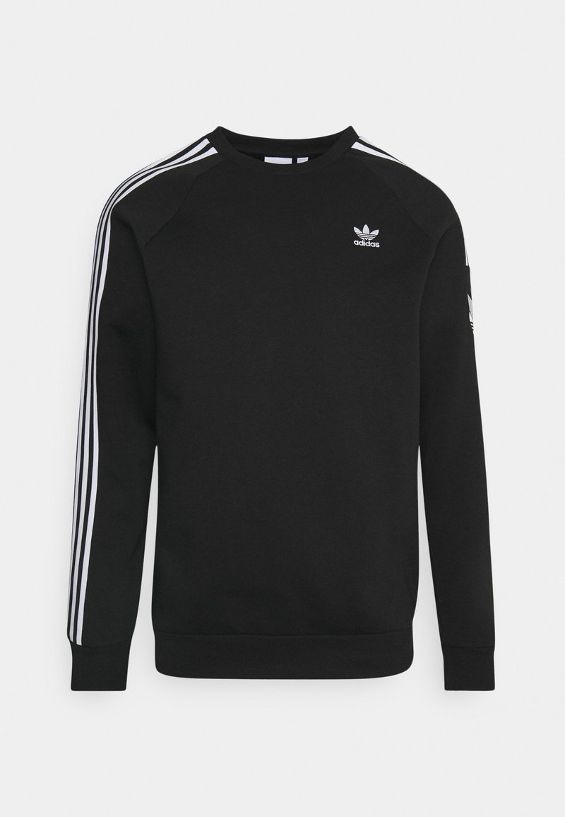 adidas Originals - Huvtröja med dragkedja - black
