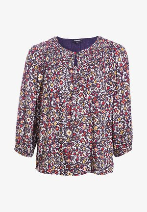 MIT 3/4-ÄRMELN - Blouse - multicolour
