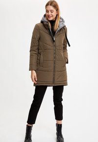 DeFacto - Winter coat - khaki - 1