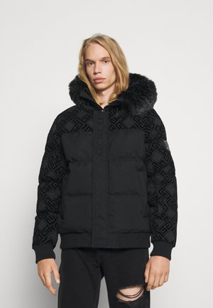 LAVIN BOMBER - Winter jacket - jet balck