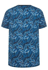 BadRhino - TROPICAL LEAF - Print T-shirt - blue - 4