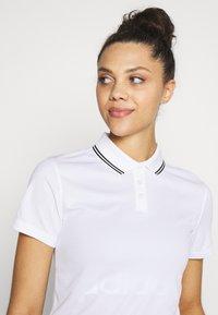Nike Golf - DRY VICTORY - Funkční triko - white/black - 3
