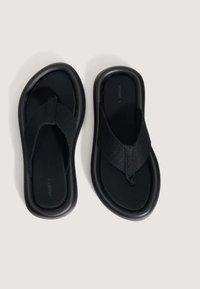 OYSHO - T-bar sandals - black - 2
