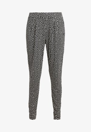 Pyjama bottoms - schwarz/crem