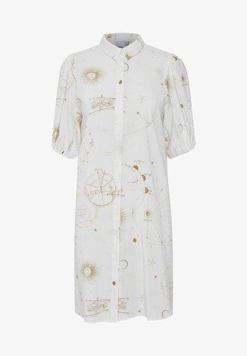 IHCASSIOPEIA - Shirt dress - cloud dancer