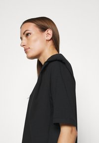Selected Femme - SLFOLINE PADDED TEE  - Print T-shirt - black - 4
