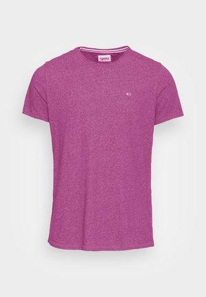 JASPE NECK - Basic T-shirt - autumn plum