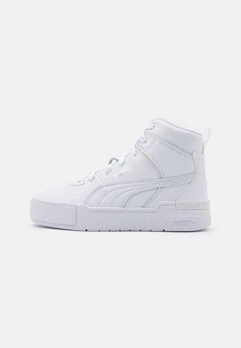 CALI SPORT TOP  - Sneakers alte - white/silver