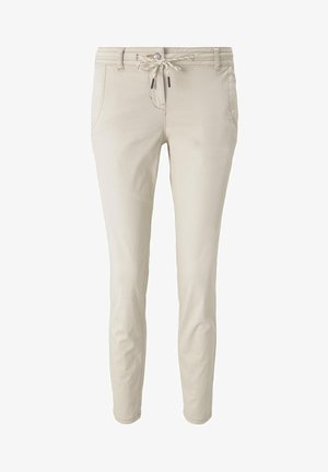 TAPERED RELAXED - Trousers - dusty alabaster