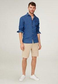 Mango - FLEK - Shorts - beige - 1