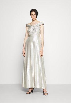 QUINCY SLEEVELESS EVENING DRESS - Suknia balowa - silver