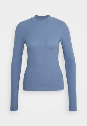 MOCKNECK - Topper langermet - dusty blue
