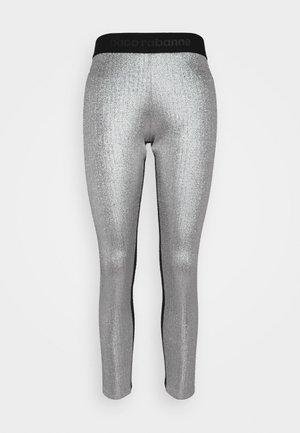 PANTALON - Leggings - Trousers - silver