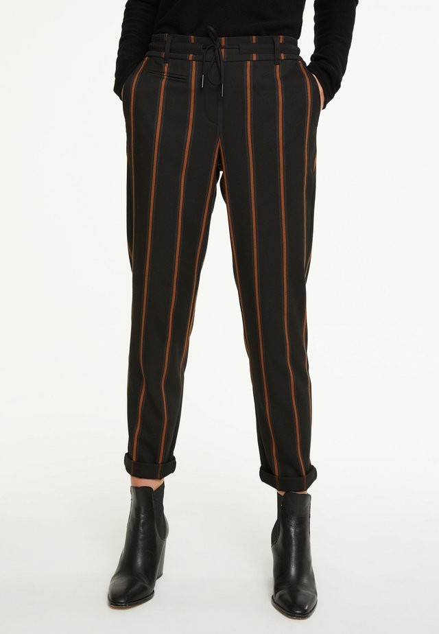 IM JOGSTYLE - Trousers - grey stripes