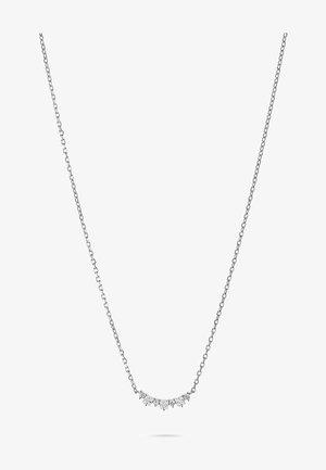 DAMEN-KETTE 925ER SILBER 10 ZIRKONIA - Necklace - silber