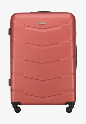 TRAVEL - Wheeled suitcase - orange