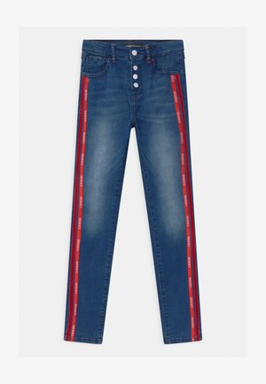 JUNIOR HIGH WAIST SKI - Skinny džíny - blue denim