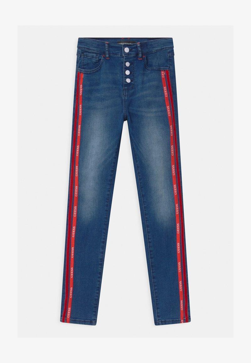 Guess - JUNIOR HIGH WAIST SKI - Jeans Skinny Fit - blue denim