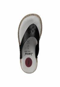 Jana - T-bar sandals - black - 1