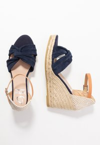 Kanna - SIENA - High heeled sandals - marino - 3