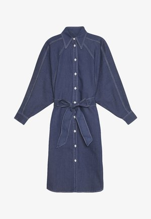 ALINA DRESS - Denimové šaty - mid blue
