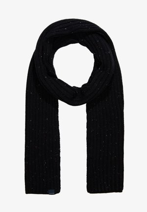 SCARF - Šála - bordeaux/black