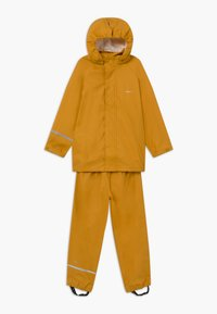 CeLaVi - BASIC RAINWEAR SET UNISEX - Waterproof jacket - mineral yellow - 0