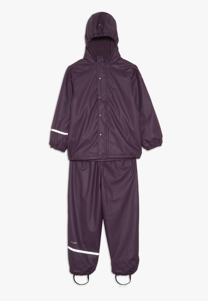 CeLaVi - RAINWEAR SET - Vodotěsná bunda - blackberry wine