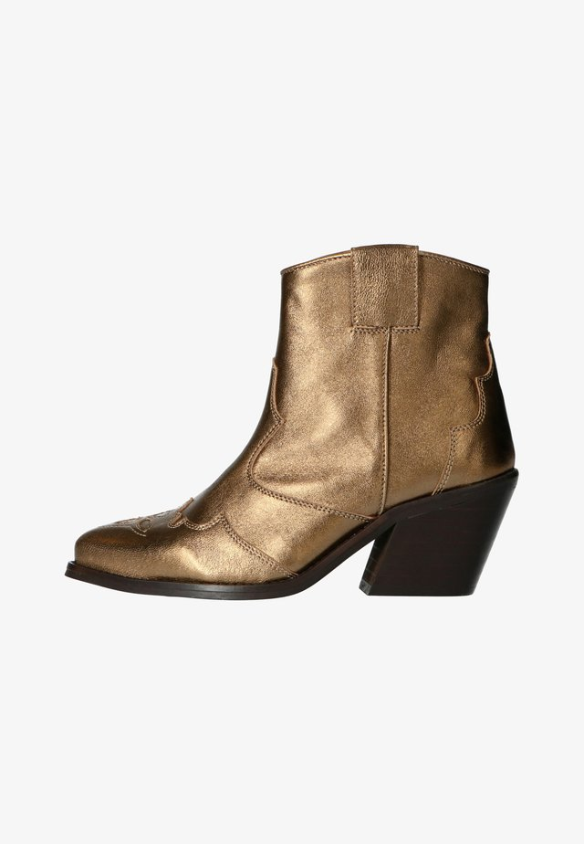 WESTERN  - Santiags - gold
