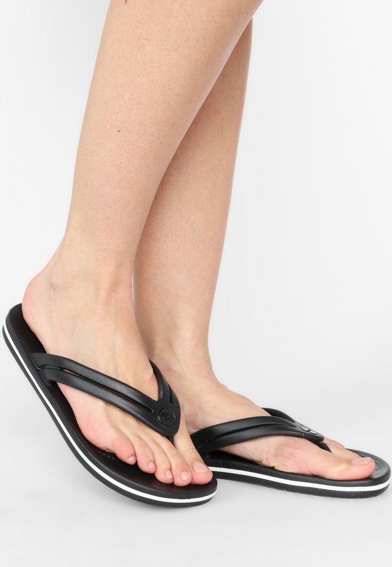 Crocs - CROCBAND - Pool shoes - black