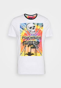 PSYCHE - Triko s potiskem - white/multi-colour