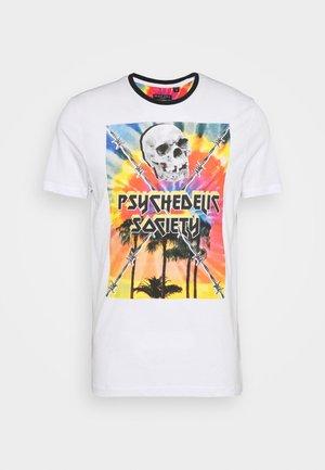 PSYCHE - T-Shirt print - white/multi-colour