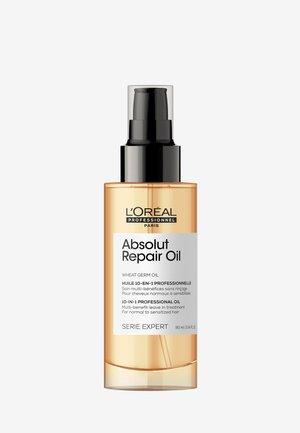 SERIE EXPERT ABSOLUT REPAIR 10 IN 1 OIL  - Hair treatment - -