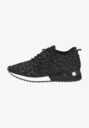 Sneakers laag - black-silver