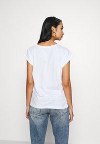 Dedicated - VISBY DO NO HARM - Print T-shirt - white - 2